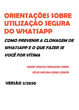 Orientações sobre utilização segura do WhatsApp