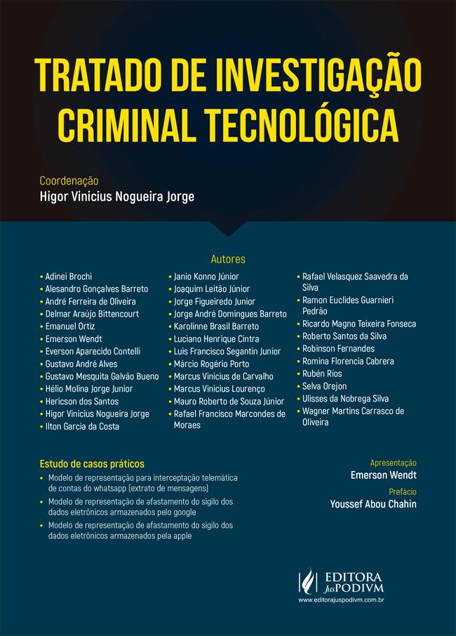 Trecho do Tratado de Investigação  Criminal Tecnológica