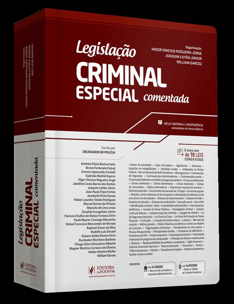 Amostra da obra Legislação Especial Criminal Comentada